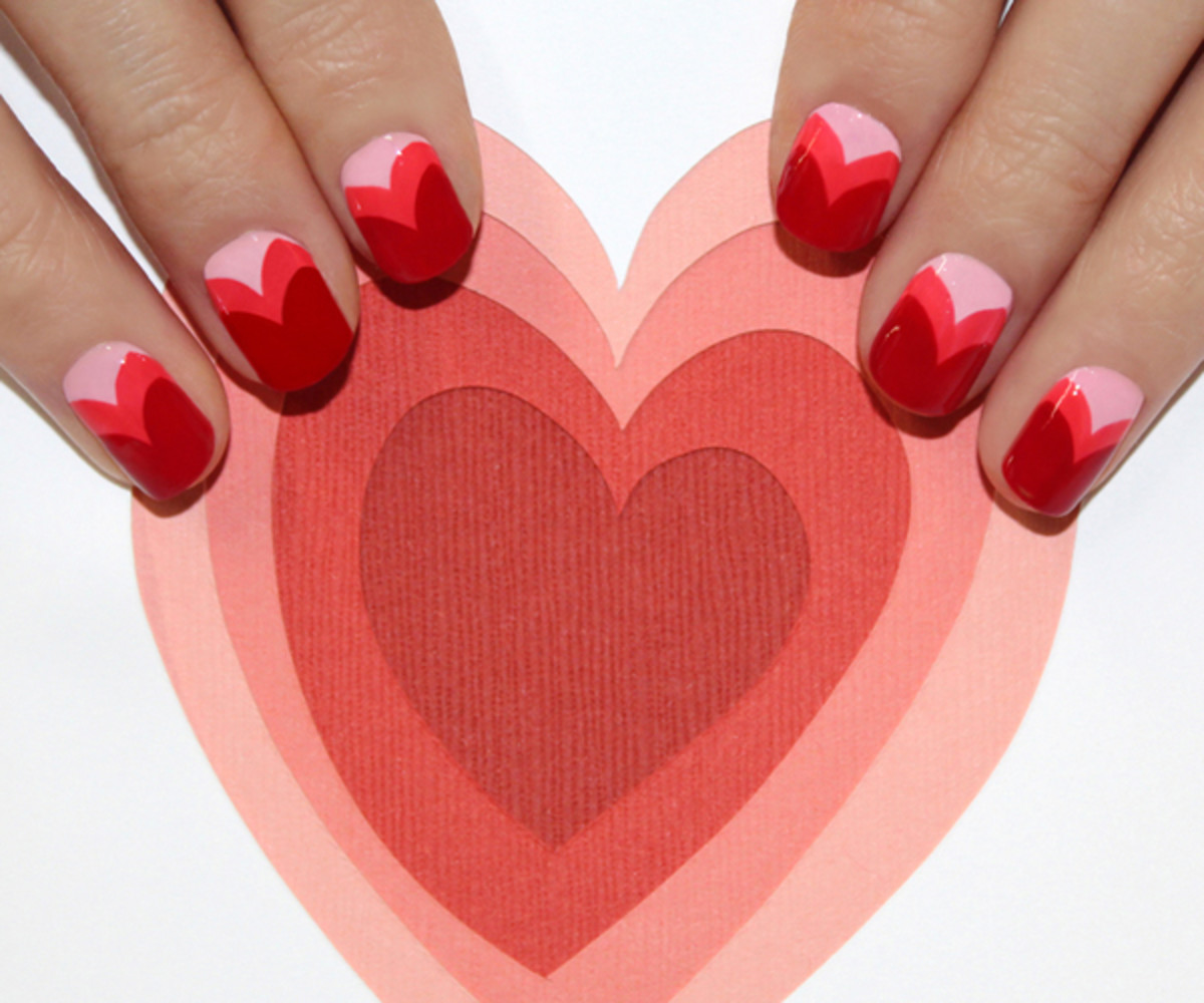 5 Super Cute Valentines Day Nail Designs You Can Diy Nisestyles